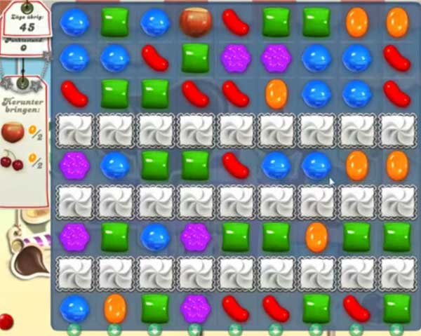 Candy Crush Level 112
