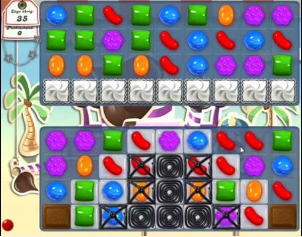 Candy Crush Level 120