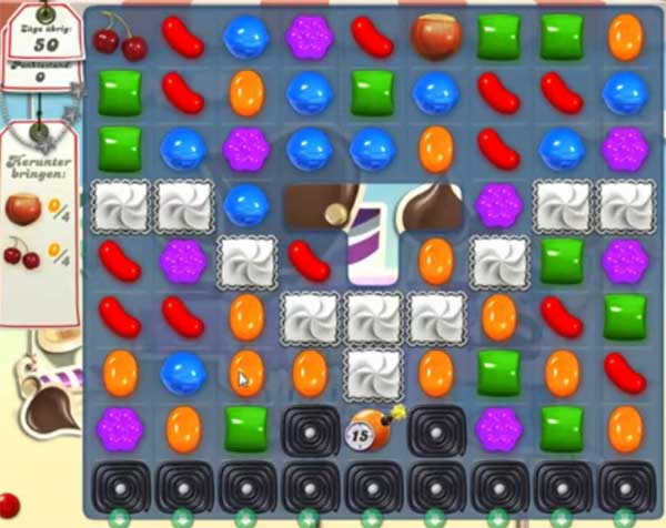 Candy Crush Level 124