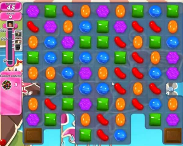 Candy Crush Level 135