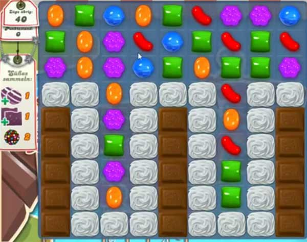 Candy Crush Level 136
