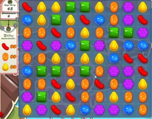 Candy Crush Level 140