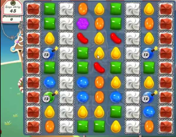 Candy Crush Level 144