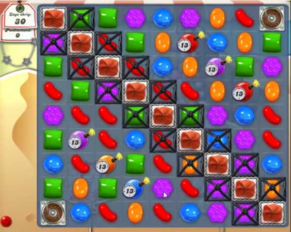Candy Crush Level 168