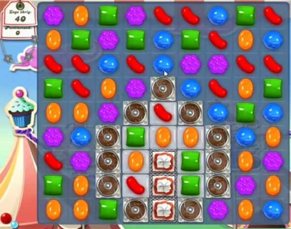 Candy Crush Level 184