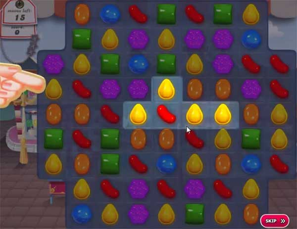 candy crush level 2