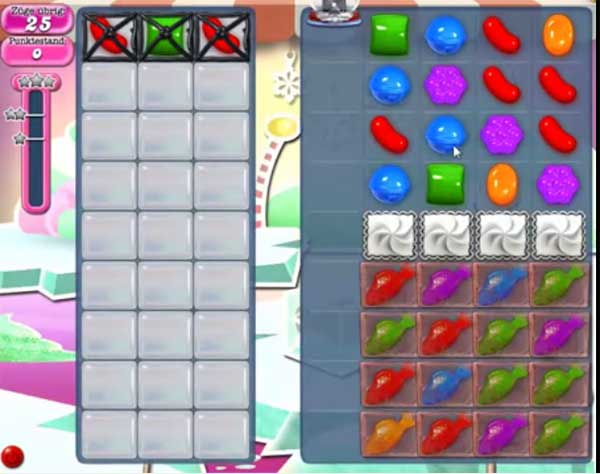 Candy Crush Level 250