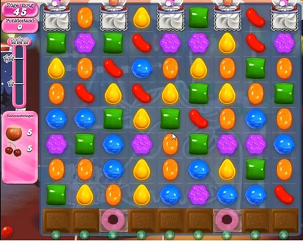 Candy Crush level 272