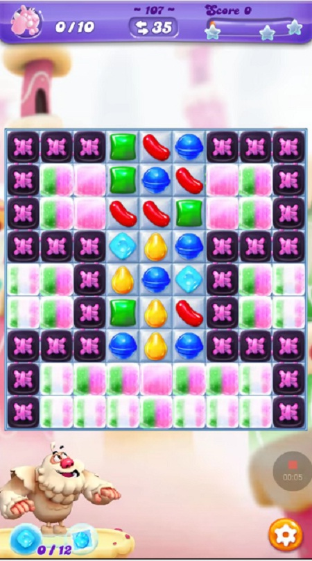 how to pass level 107 candy crush soda