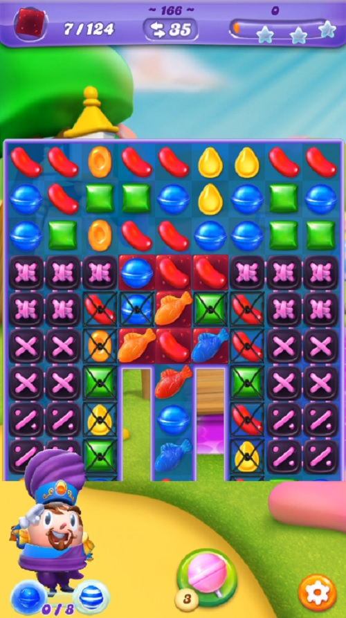 how to play candy crush level 767