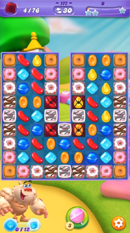 how to play candy crush saga 76th level